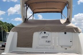 SeaRay Full Boat Cover with snaps