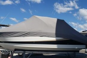 Custom Full Boat Cover - Weather Max 3 D - very light fabric